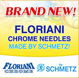 Floriani Chrome Needles made by Schmetz