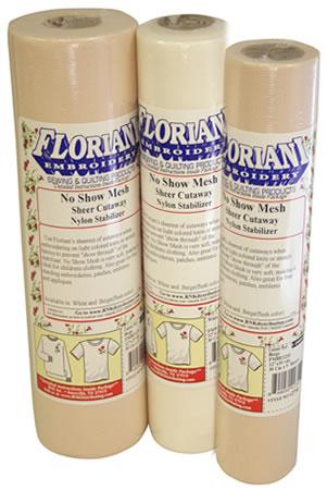 Floriani No Show Nylon Mesh Stabilizer