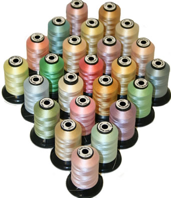Ultra-Thin Poly Embroidery Thread