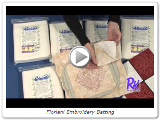 Floriani Embroidery Batting