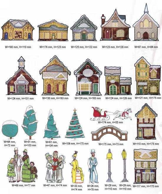 Christmas Village.Christmas Village