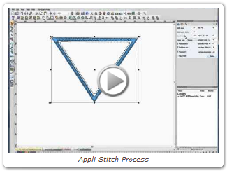 Appli Stitch process