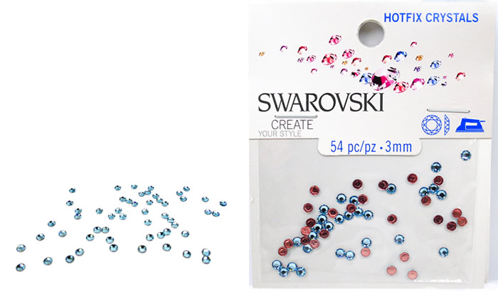 Swarovski Hotfix Crystals – Aquamarine