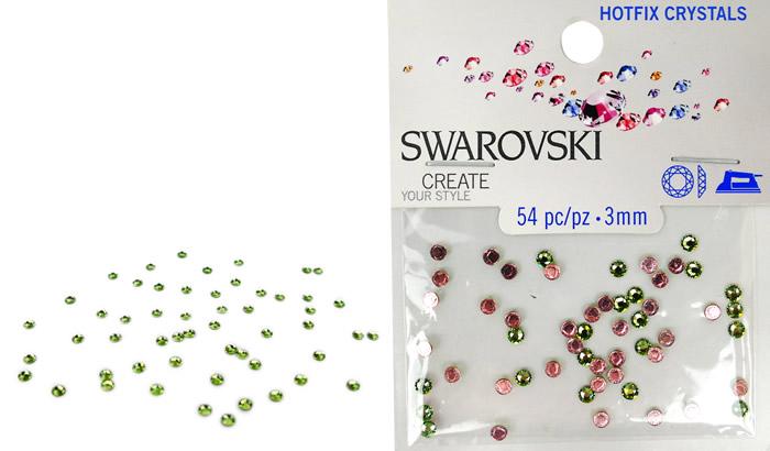 Swarovski Hotfix Crystals – Peridot