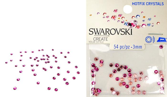 Swarovski Hotfix Crystals – Rose