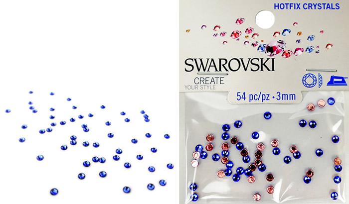 Swarovski Hotfix Crystals – Sapphire