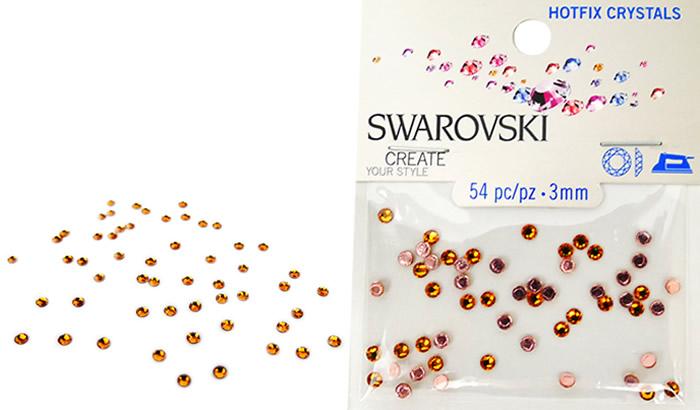 Swarovski Hotfix Crystals – Topaz