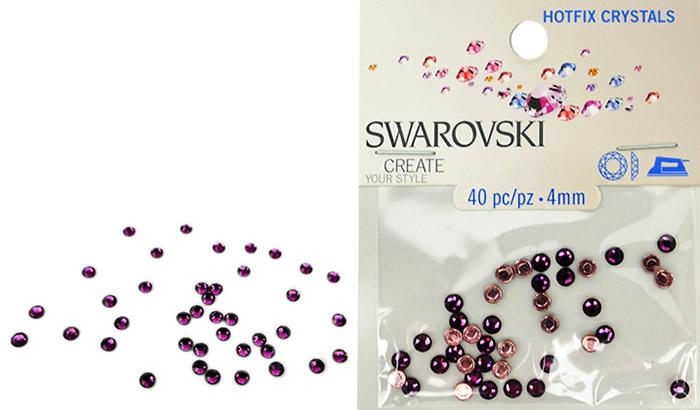 Swarovski Hotfix Crystals – Amethyst