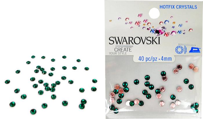Swarovski Hotfix Crystals – Emerald Green