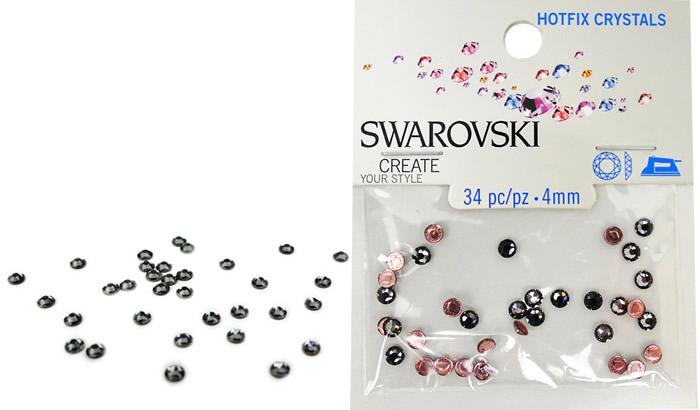 Swarovski Hotfix Crystals – Silvernight