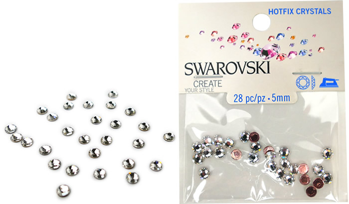 Swarovski Hotfix Crystals – Crystal