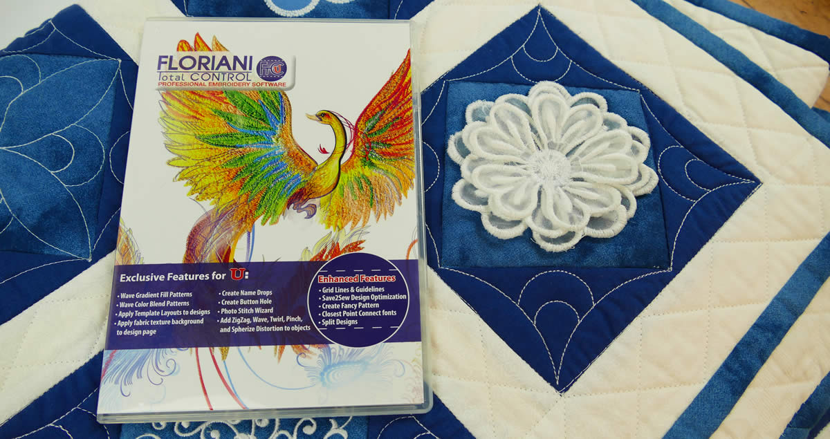 Floriani Total Control-U Embroidery Software