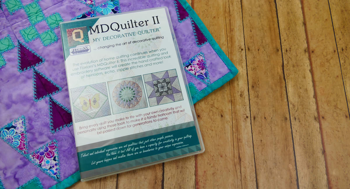 My Decorative Quilter II Software