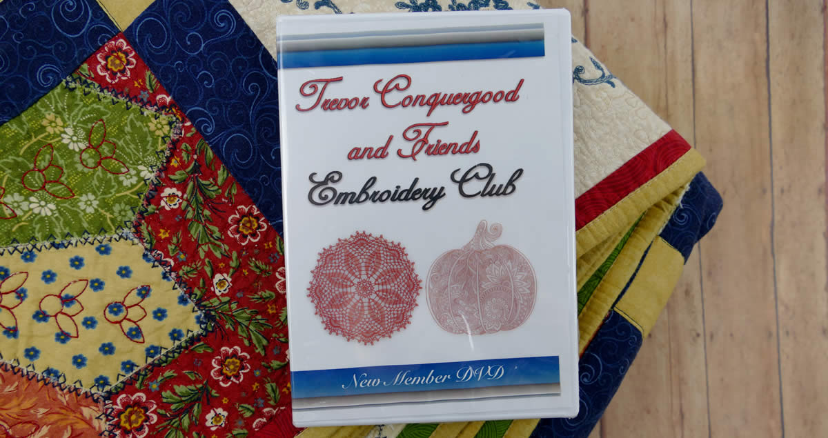 Trevor and Friends Embroidery Club DVD